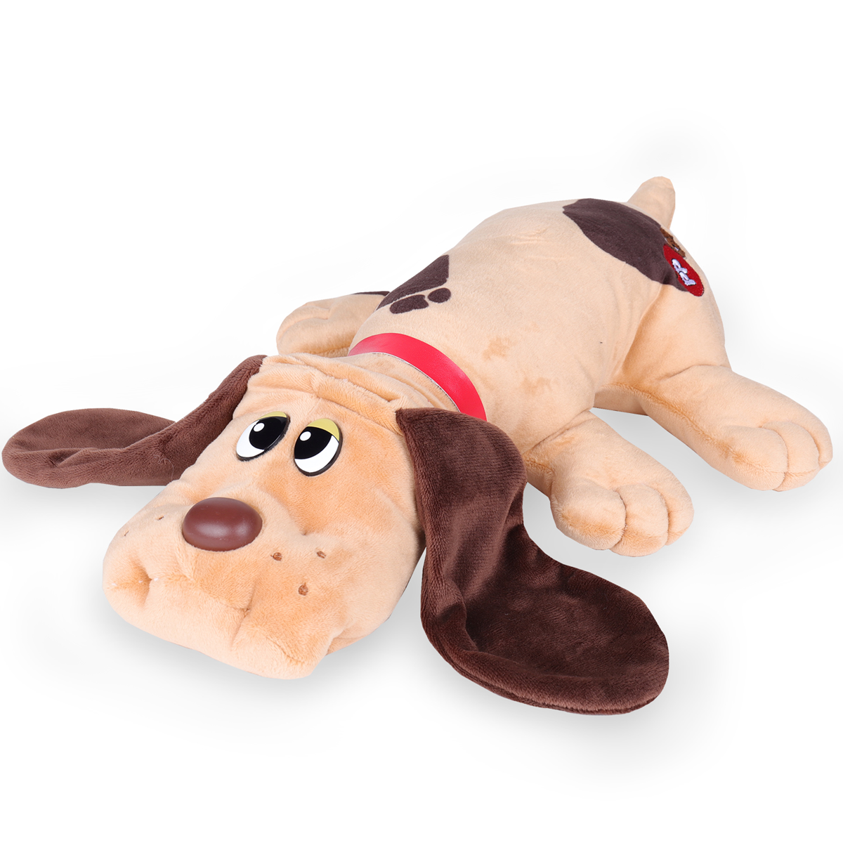 Pound Puppies Classic Plush Toy Brown With Spots The Entertainer