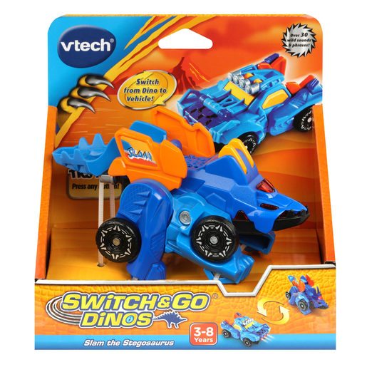 VTech Switch & Go Dinos - Slam the Stegosaurus