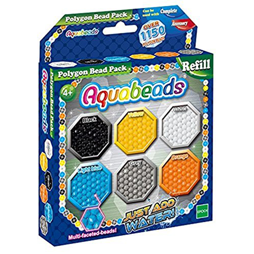 Aquabeads Polygon Refill Beads