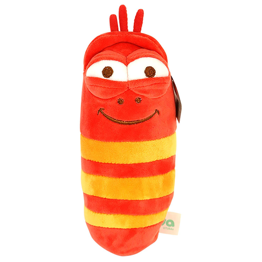 Larva 30cm Plush Toy - Red