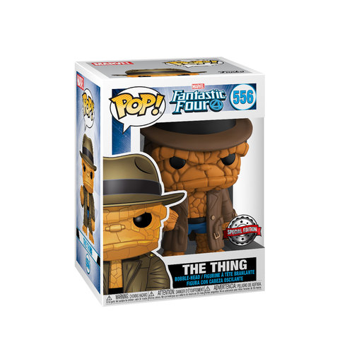 Funko Pop! Marvel: Fantastic Four - The Thing Bobble-Head