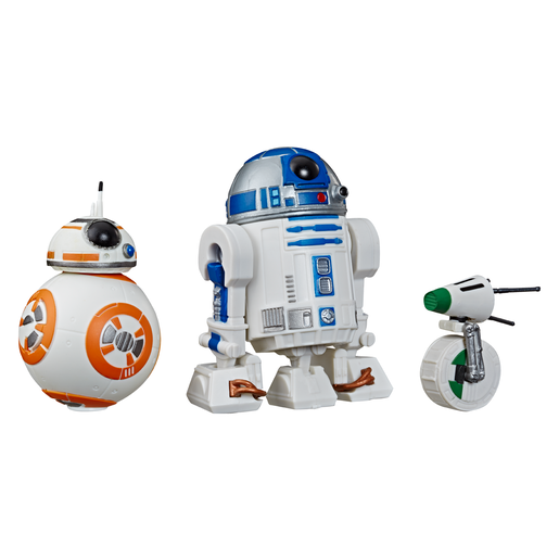Star Wars The Rise of Skywalker Figures - R2-D2, BB-8 and D-0