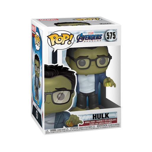 Funko Pop! Marvel: Endgame - Hulk with Taco Bobble-Head