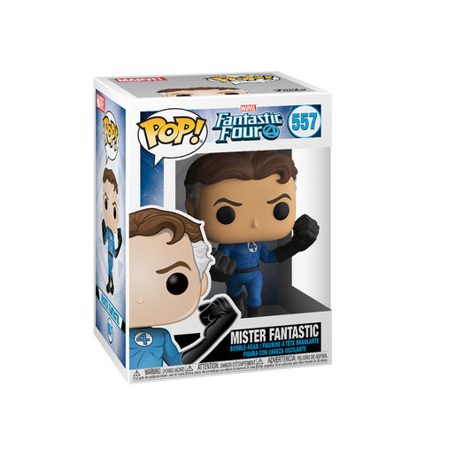 Funko Pop! Marvel: Fantastic Four - Mister Fantastic Bobble-Head