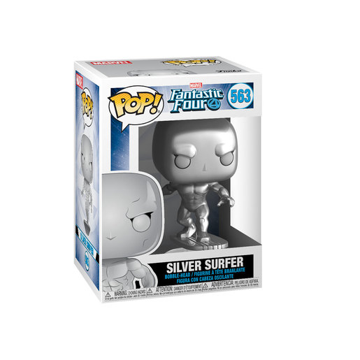 Funko Pop! Marvel: Fantastic Four - Silver Surfer(MT) Bobble-Head