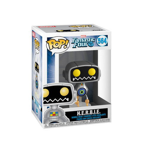 Funko Pop! Marvel: Fantastic Four - H.E.R.B.I.E. Bobble-Head