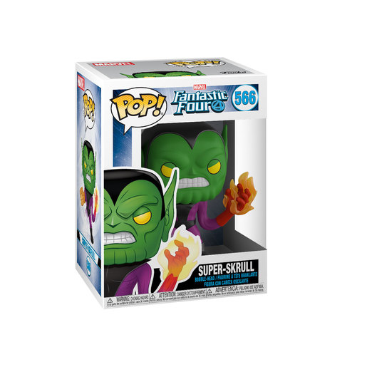 Funko Pop! Marvel: Fantastic Four - Super-Skrull Bobble-Head