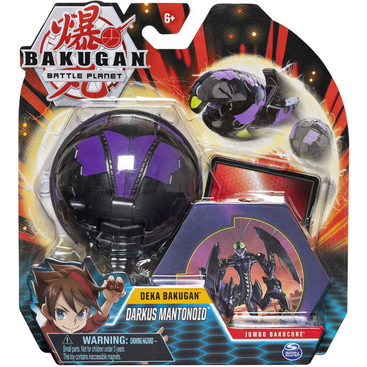 Bakugan Battle Planet Deka Bakugan Jumbo Bakucore - Darkus Mantonoid