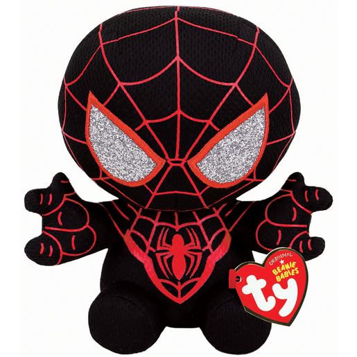 Ty Marvel Beanie Soft Toy - Miles Morales