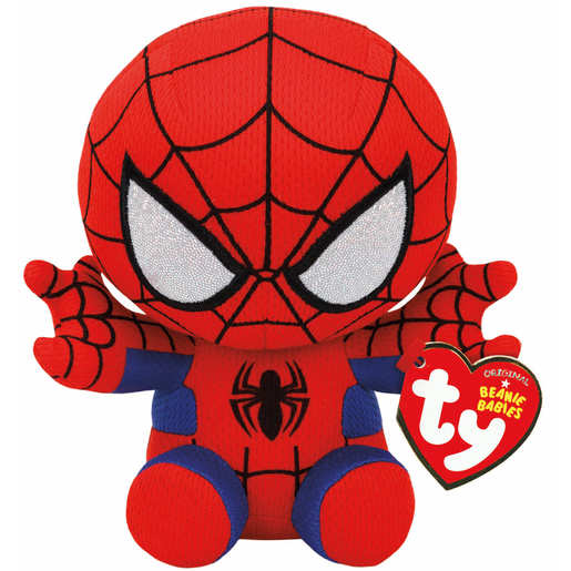 Ty Marvel Beanie Soft Toy - Spider-Man