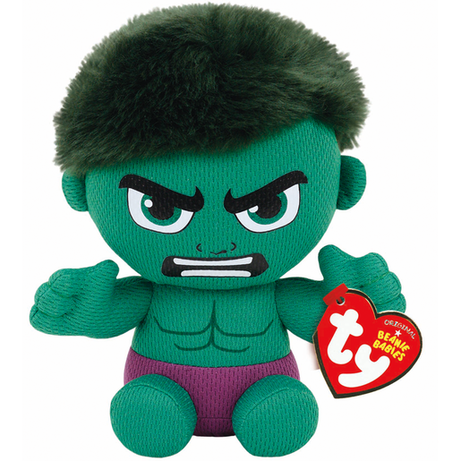 Ty Marvel Beanie Soft Toy - Hulk
