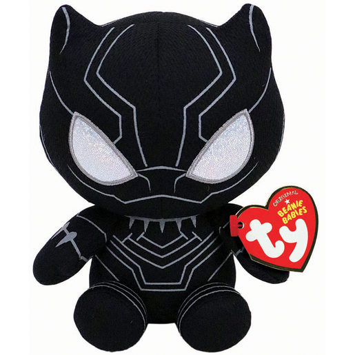 Ty Marvel Beanie Soft Toy - Black Panther