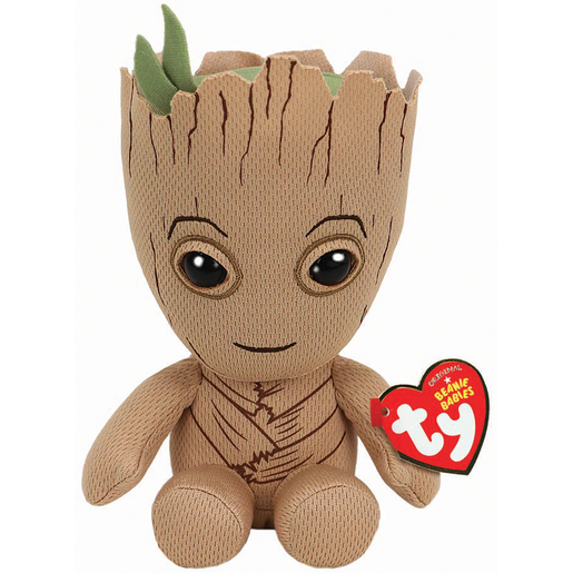 Ty Marvel Beanie Soft Toy - Groot