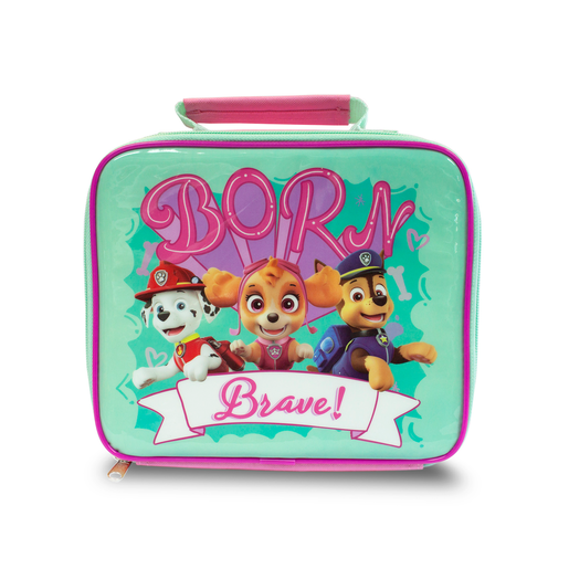 Paw Patrol Born Brave Pink Lunch Bag