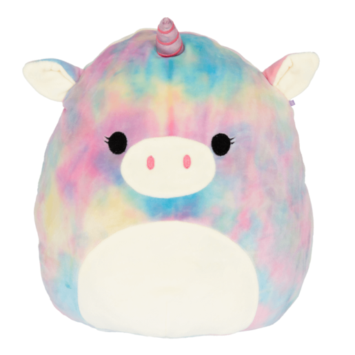 Squishmallow 19cm Super Soft Toy Esmeralda The Unicorn