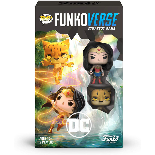 Funkoverse Strategy Game: DC Wonder Woman & The Cheetah