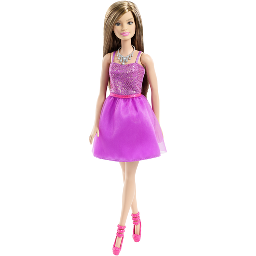 Barbie Glitz Doll - Purple Sequin Dress
