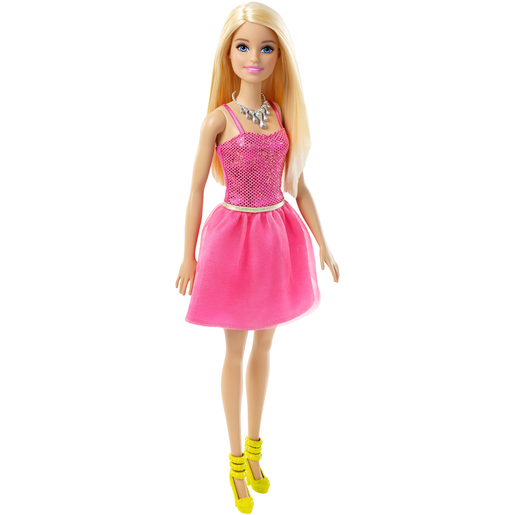 Barbie Glitz Doll - Pink Sequin Dress