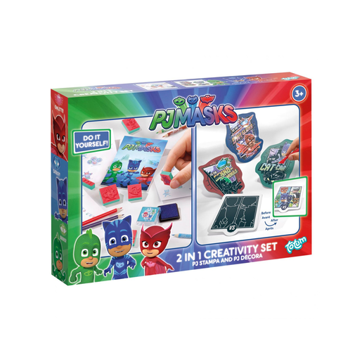 PJ Masks 2 in 1 Creativity Set