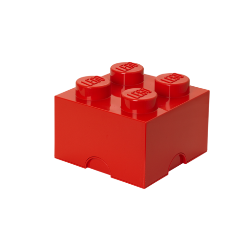 LEGO Stackable Storage Box - Red 5.7L