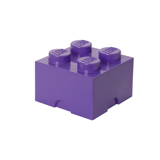 LEGO Stackable Storage Box - Purple 5.7L