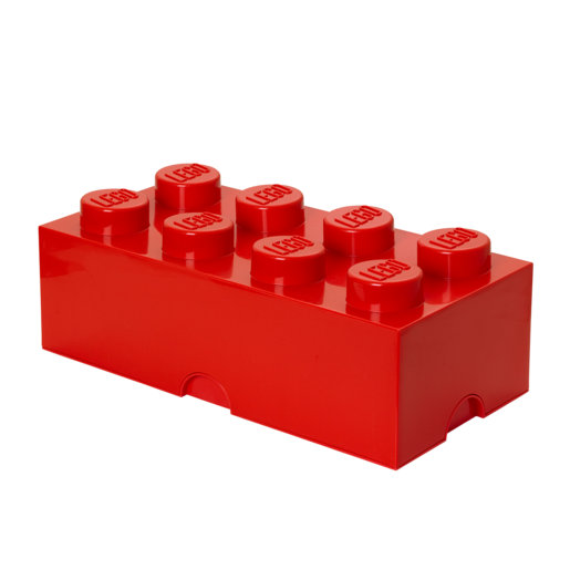 LEGO Stackable Storage Box - Red 12L