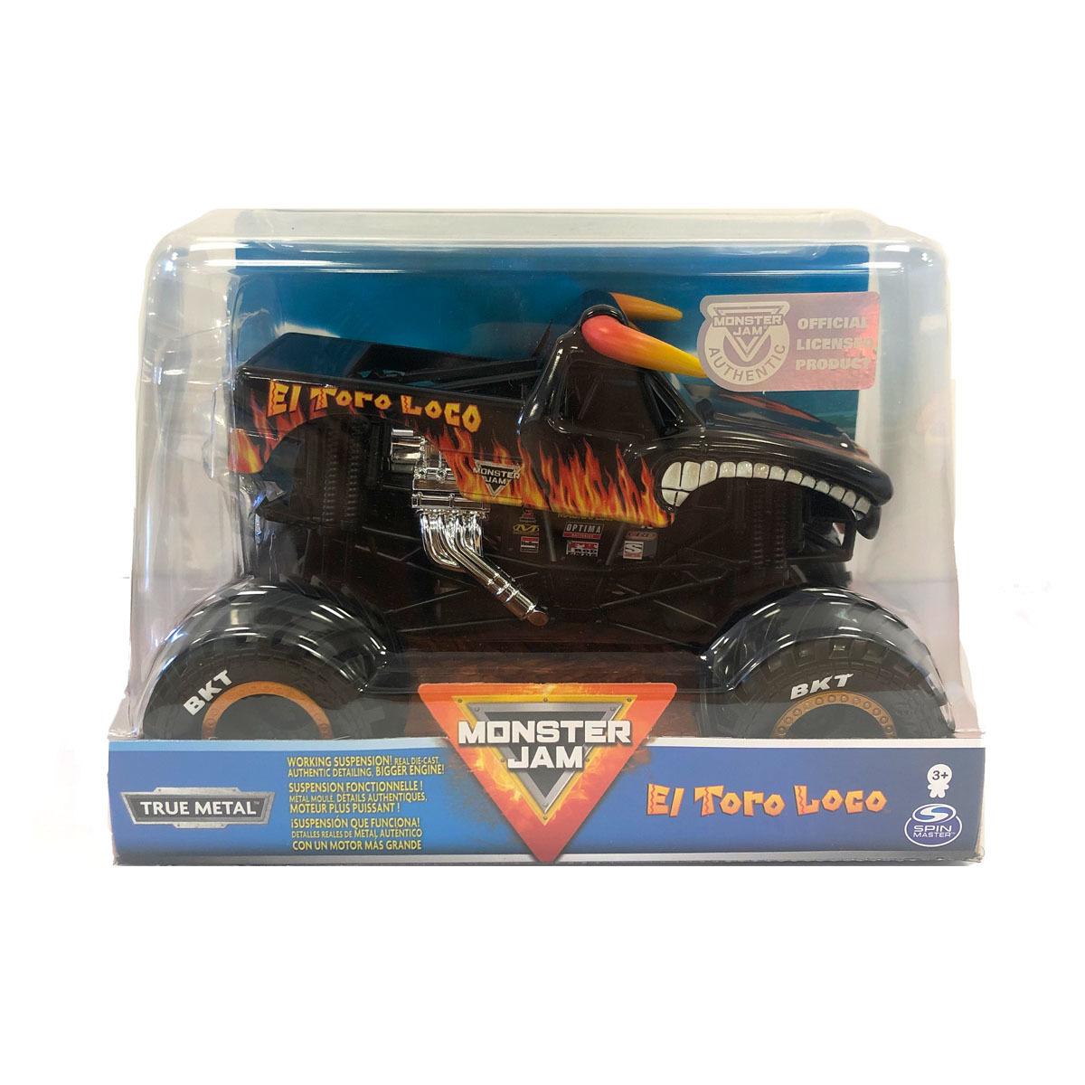 Monster Jam 1 24 True Metal Truck El Toro Loco The Entertainer