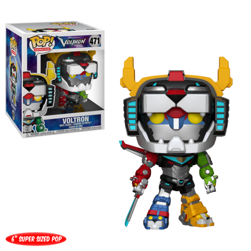 Funko Pop! Animation: Voltron - Super Sized 15cm Voltron