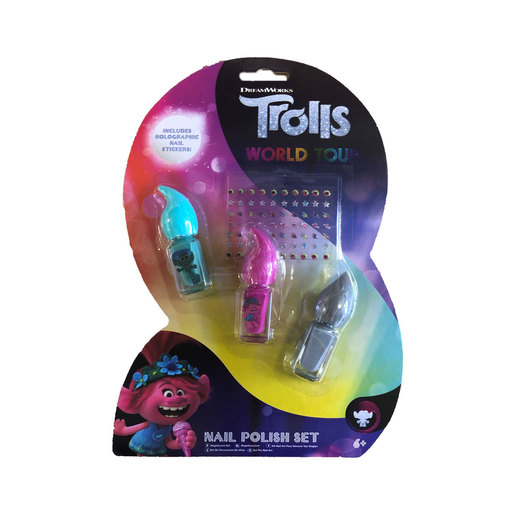 DreamWorks Trolls World Tour Nail Polish Set