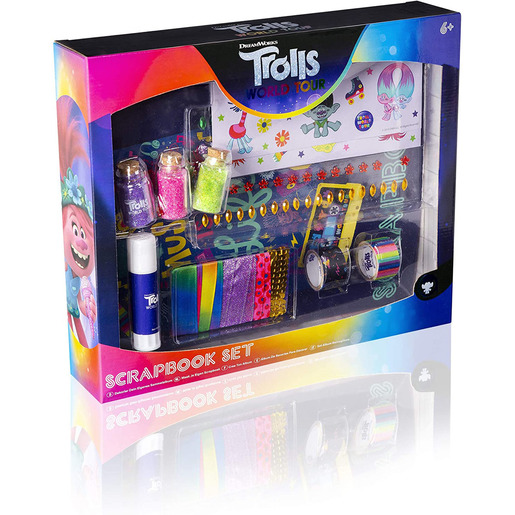 DreamWorks Trolls World Tour Scrapbook Set (Styles Vary)
