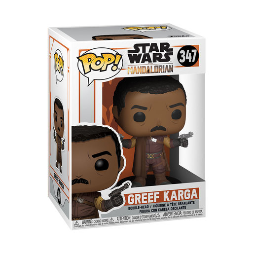 Funko Pop! Television: Star Wars The Mandalorian - Greef Karga