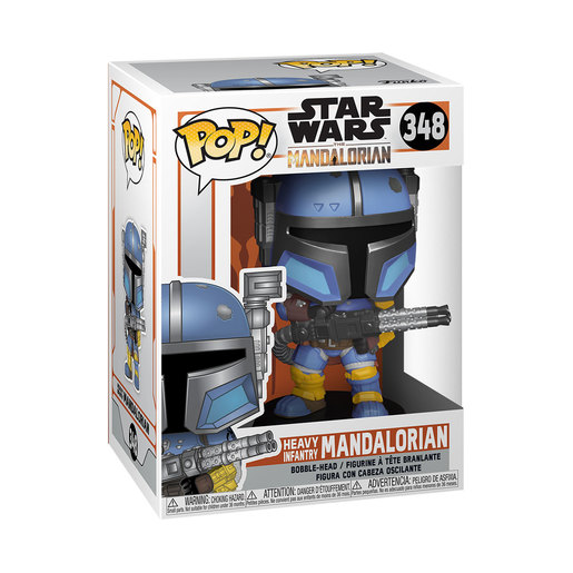Funko Pop! Television: Star Wars The Mandalorian - Heavy Infantry Mandalorian