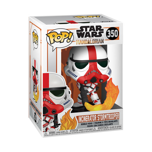 Funko Pop! Television: Star Wars The Mandalorian - Incinerator Stormtrooper