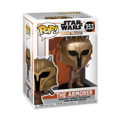 Funko Pop! Television: Star Wars The Mandalorian - The Armorer