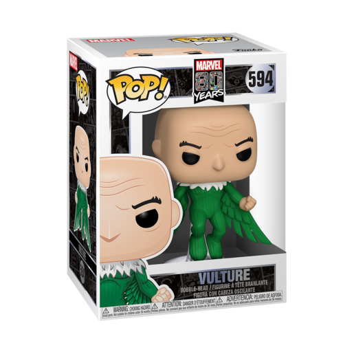 Funko Pop! Marvel: 80th Anniversary - Vulture Bobble-Head