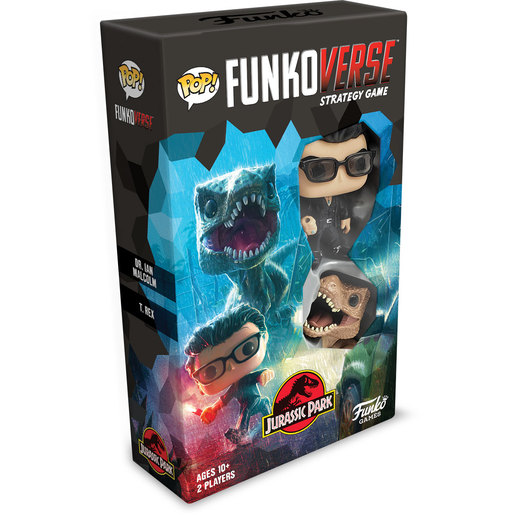 Funkoverse Strategy Game 2 Characters - Jurassic Park