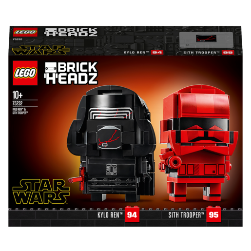 LEGO Brick Headz Kylo Ren & Sith Trooper - 75232