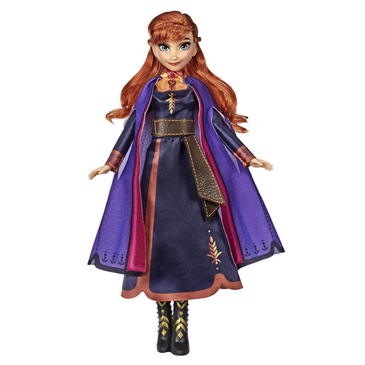 Disney Frozen 2 - Singing Anna Fashion Doll