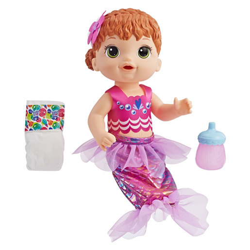 Baby Alive Shimmer 'N' Splash Mermaid Doll