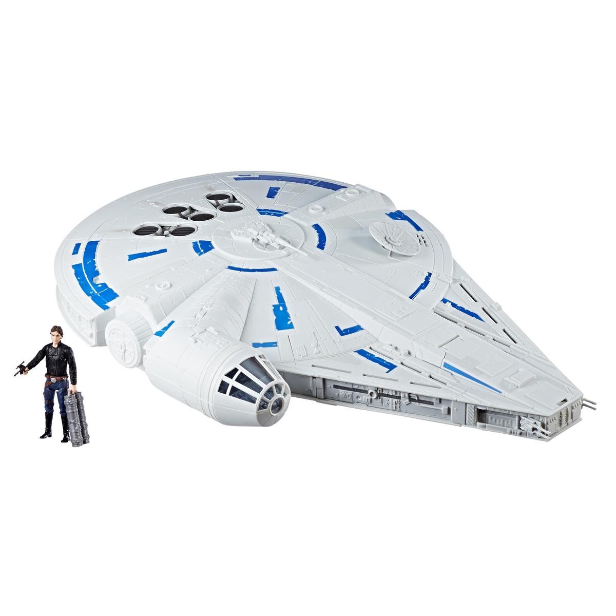"Hasbro Star Wars 3.75/"" Solo Movie Force Link 2.0 Millennium Falcon New In Box"