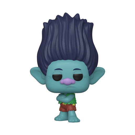 Funko Pop! Movies: Trolls World Tour - Branch (Styles Vary)