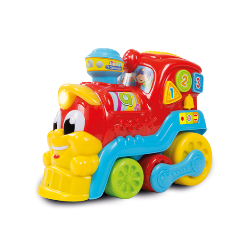 Baby Clementoni Bilingual Activity Train 123 - English and Spanish