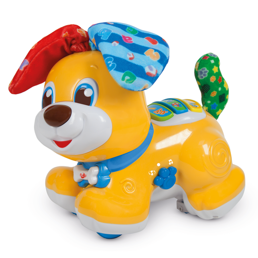 Baby Clementoni Bilingual Peekaboo Dog - English and Spanish