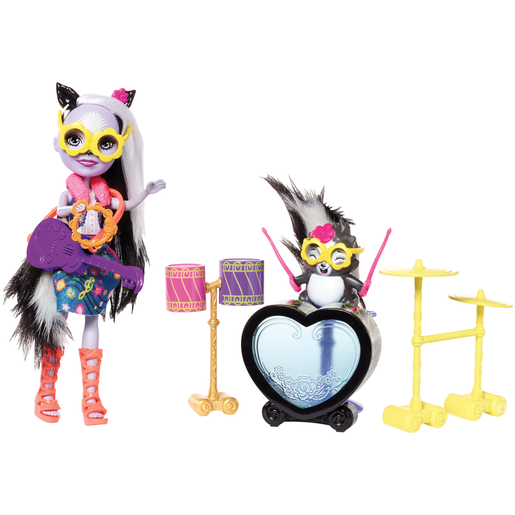 Enchantimals Doll and Drum Set