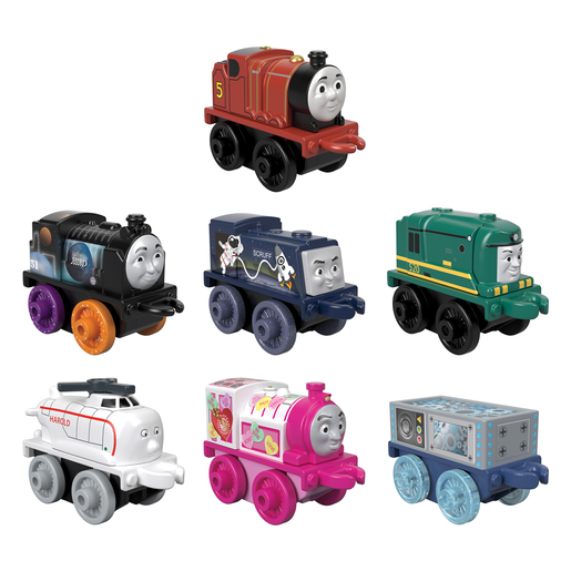 Thomas & Friends Minis Trains 7 Pack - James and Friends