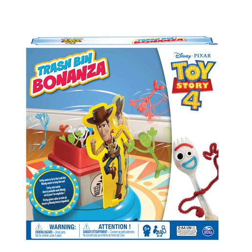 Disney Pixar Toy Story 4 Trash Bin Bonanza from TheToyShop