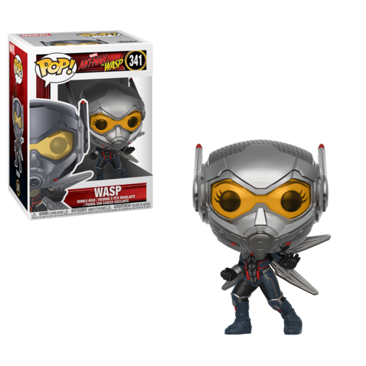 Funko Pop! Marvel: Ant-Man and the Wasp - Wasp Bobble-Head (Styles Vary)