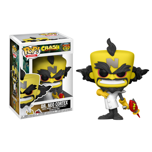 Funko Pop! Games: Crash Bandicoot - Dr. Neo Cortez
