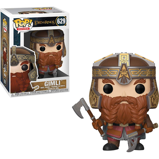 Funko Pop! Movies: Lord Of The Rings - Gimli