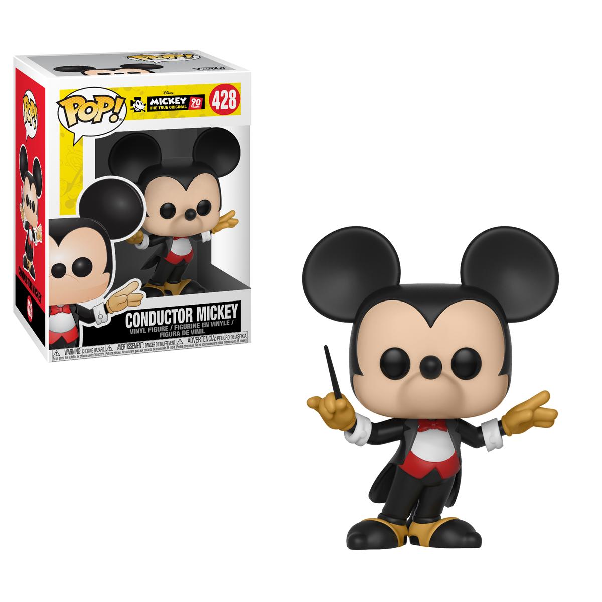 Disney: Plane Crazy Mickey Funko Pop 2019, Toy NUEVO Mickey/'s 90th